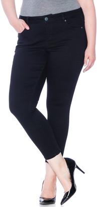 SLINK Jeans High Waist Ankle Skinny Jeans