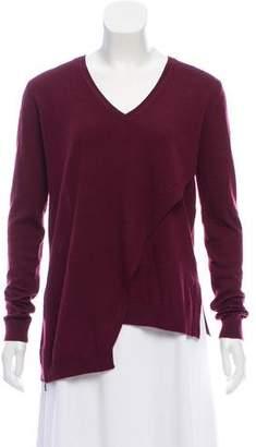Belstaff Asymmetrical Wool Sweater