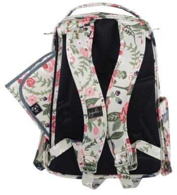 Infant Ju-Ju-Be 'Be Right Back' Diaper Backpack - Blue 4