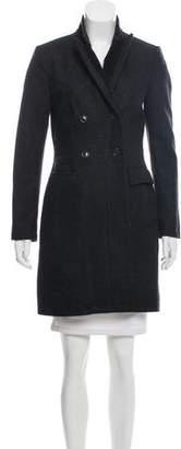Rag & Bone Double-Breasted Wool Coat