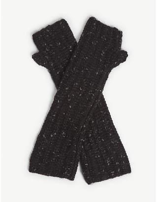 Zadig & Voltaire Diana coa cotton-blend gloves