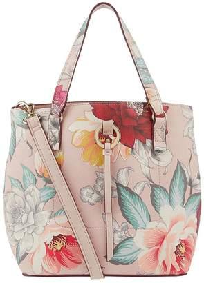 Accessorize Mocha Double Handle Bucket Bag - Multi