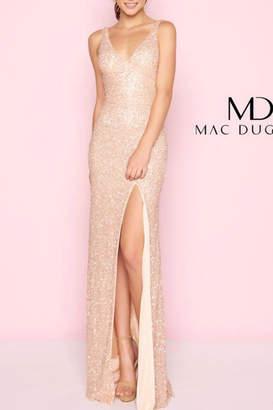 Mac Duggal Rose Gold Gown