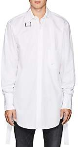 Blood Brother MEN'S IMMERSION COTTON SHIRT-WHITE SIZE XL
