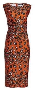 Rachel Comey Medina Leopard Print Dress