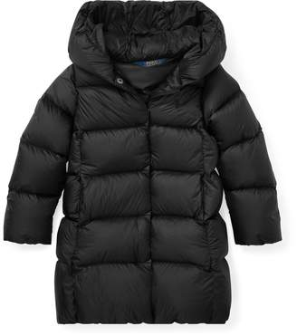 Ralph Lauren Long Hooded Down Jacket