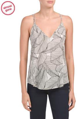 Sienna Sky Palm Print Camisole