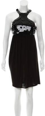 Christian Dior Greene Sequin Knit Dress