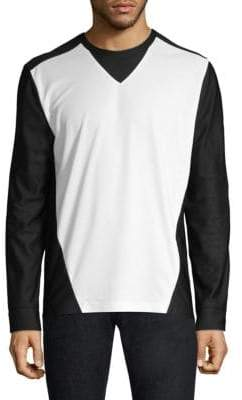Black Barrett Running Long Sleeve Waterproof T-Shirt