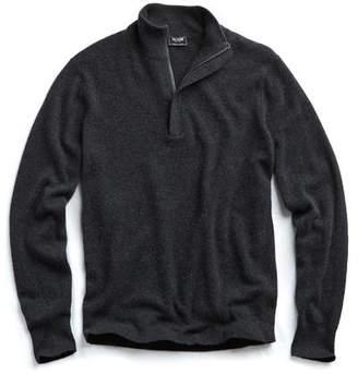 Todd Snyder Cashmere Half-zip in Grey