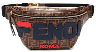 Fendi Leather-trimmed belt bag