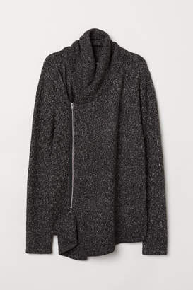 H&M Zipped cardigan - Gray
