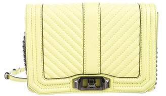 Rebecca Minkoff Quilted Small Love Crossbody Bag