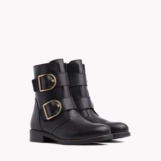 Tommy Hilfiger D-Ring Motorcycle Boot