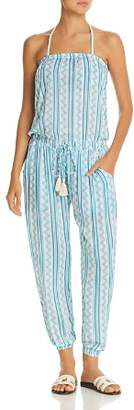 Cool Change Coolchange Brooke Tehani Stripe Jumpsuit Swim Cover-Up