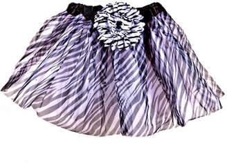 Mi Amore Gigi Zebra Print Tutu Skirt