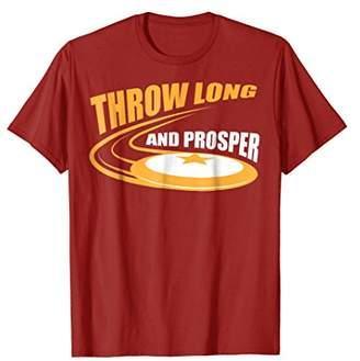 Throw Long And Prosper Shirt | Cute Goaltimate T-shirt Gift