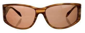 Lanvin Tinted Shield Sunglasses