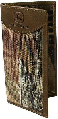 John Deere Camo Checkbook Wallet