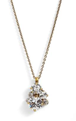 Sorrelli Assorted Round Crystal Pendant Necklace