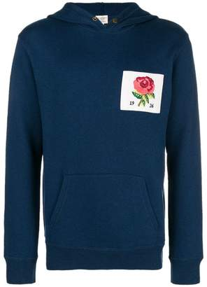 Kent & Curwen patch hoodie