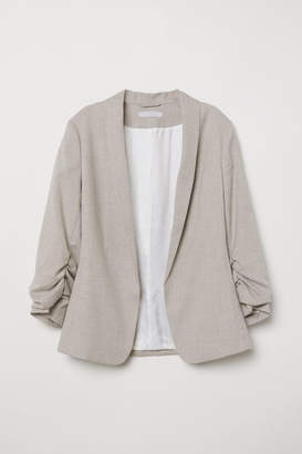 H&M Shawl-collar Jacket - Beige