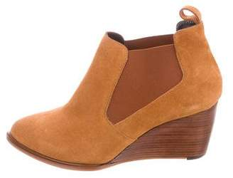 Robert Clergerie Olavm Pointed-Toe Booties w/ Tags