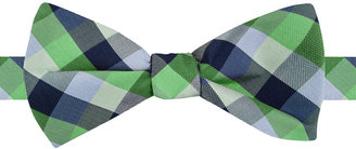 Tommy Hilfiger Men's Grid To-Be-Tied Bow Tie $49.50 thestylecure.com