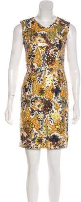 Marc Jacobs Printed Sleeveless Midi Dress