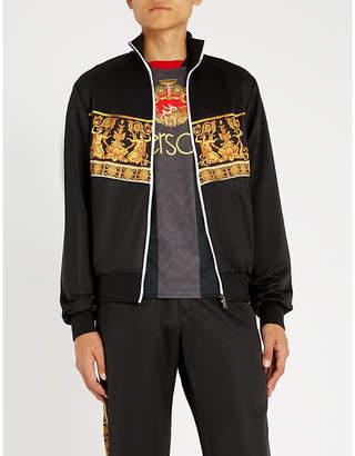 Versace Baroque-print woven jacket