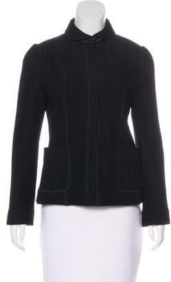 Armani Collezioni Pleated Casual Jacket