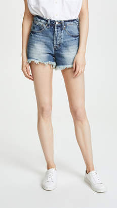 AYR The Cut Off Denim Shorts