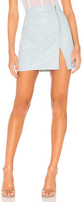 Understated Leather x REVOLVE High Waisted Zip Skirt