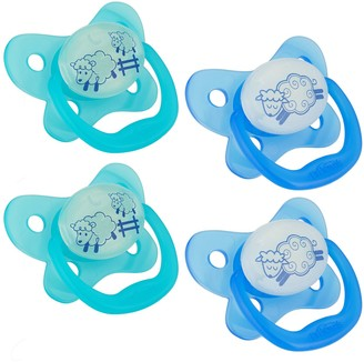 Dr Browns 0-6 Months Dr. Brown's 4-pk. Stage 1 Glow-In-The-Dark Pacifiers