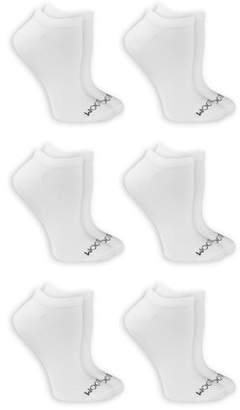 Fruit of the Loom Women's Beyond Soft No Show Socks 6 Pair