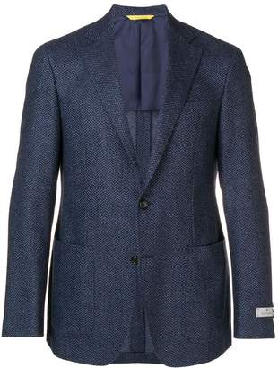 Canali textured blazer