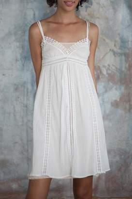 Charlie Joe White Crepon Dress