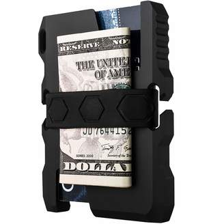 N. Calti Tactical EDC Minimalist Slim Wallet, RFID Blocking, Men & Women