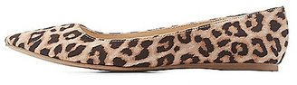 Leopard Print Pointed Toe Flats $17.99 thestylecure.com