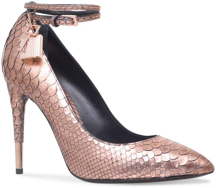 TOM FORD Padlock Pumps 105, Pink, IT 35