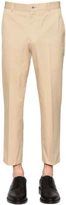 Thom Browne Skinny Cotton Chino Twill Pants