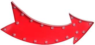 Privilege Curved Arrow LED Sign Board