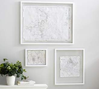 Pottery Barn Floating Wood Gallery Frames