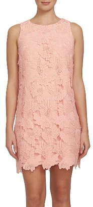 Women's Cece Arlington Lace Shift Dress $148 thestylecure.com