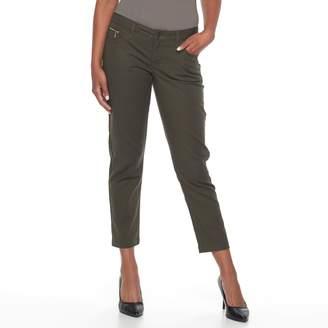 Apt. 9 Women's Zipper Accent Ankle Skinny Jeans