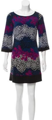 Laundry by Shelli Segal Printed Mini Dress