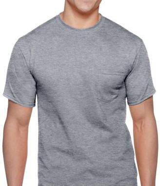 Gildan Men's Workwear Short Sleeve Pocket Tee, 2-Pack