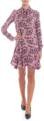 L'Autre Chose Printed Short Dress