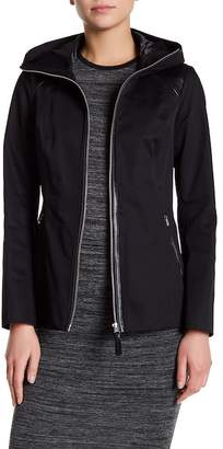 Mackage Hooded Zip Front Jacket $380 thestylecure.com