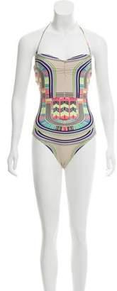 Mara Hoffman One-Piece Printed Swimsuit